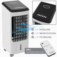 TroniTechnik Luftkühler LK03 Ventilator, inkl. Fernbedienung und Luftfilter
