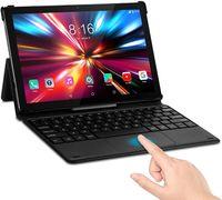LNMBBS P60 Tablets mit Magnetic Keyboard 10.1 Zoll - 128GB, SIM, 1920*1200 FHD, Farbe: Schwarz