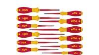 Schraubendreher Set SoftFinish® electric slimFix gemischt 12-tlg. (41003)