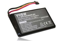 vhbw Akku kompatibel mit TomTom GO 5000, 5100, 6000, 9000 GPS Navigation Navi (1100mAh, 3,7V, Li-Ion)
