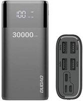 Powerbank 30000mAh Extrem Hohe Kapazität, Externer Akku mit 4 Output USB Schnellladung Max 4A , Akkupack mit LED Anzeige Externes Ladegerät kompatibel mit Handy, Tablet, Smartphone