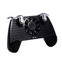Mobile Game Controller Gaming Griff Gamepad mit Power Bank Lüfter für PUBG 4400mAh