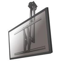 NewStar PLASMA-C100 Deckenhalterung für Flachbildschirm - Bildschirmgröße: 68,6 cm (27 Zoll) bis 152,4 cm (60 Zoll) - max. 50 kg Traglast - Silber