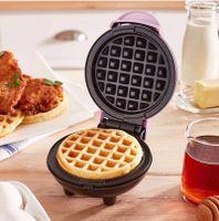 Mini-Waffelmaschine, Pfannkuchen, praktische Kleingeräte, automatische elektrische Backform