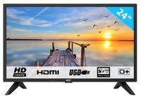 HKC 24F1D 60 cm (24 Zoll) HD LED Fernseher (HD, Triple Tuner, CI+, HDMI, USB) []