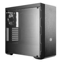Cooler Master MasterBox MB600L - Midi Tower - PC - Kunststoff - Stahl - Schwarz - Metallisch - ATX,M Cooler Master