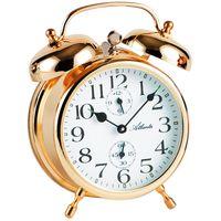 ATLANTA Retro Wecker mit Glockensignal Kupferfarben 2101//18