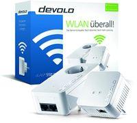 DEVOLO dLAN 550 WiFi Starter Kit Powerline (500 Mbit/s 2 Adapter im Set) - Plug-Type F (EU)