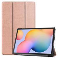 Hülle für Samsung Tab S6 Lite P610 P615 10,4 Zoll Smart Cover Etui mit Standfunktion und Auto Sleep/Wake Funktion Bronze