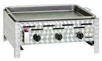 Gas-Kombi-Tischbräter 3 Brenner Grillpfanne TB1100PF