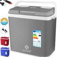 KESSER® 32 L Kühlbox 12V, 230V Stecker, Mini-Kühlschrank, Thermoelektrische Warmhaltebox, Liter:32 Liter
