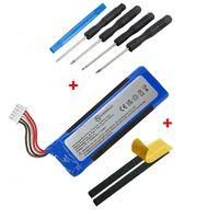 NORDMANN® Ersatz Akku Batterie für JBL Flip 4 Box IV Lautsprecher GSP872693 3000mAh Accu + Mega Werkzeug Set