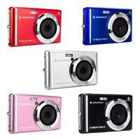 AgfaPhoto DC5200 Kompakte Digitalkamera 21MP CMOS-Sensor 8x Digitaler Zoom, Farbe:Silber