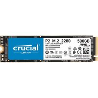 Crucial interne SSD Festplatte P2 500GB 3D NAND NVME PCIe M.2