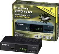 Morgan's K50 FHD DVB-C Kabel Receiver