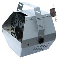 E-Lektron B600-R Seifenblasenmaschine - Funk-Fernbedienung / Batteriebetrieb Party Effekt - EL160577