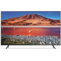 Samsung GU43TU7199 108 cm (43 Zoll) 4K Ultra HD LCD-Fernseher, LED-Backlight, 2000 Hz, DVB-T/-T2/-C/-S2 Empfänger, HbbTV, Internetfähig, WLAN, Webbrowser, App-Store Anbindung, CI+, , 96 kWh/Jahr