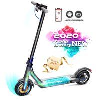 CS-HB17-Elektroscooter E-Scooter Klappbar Erwachsene E Roller Mit Vorderen und Hinteren Rückleuchten City Roller Schwarz