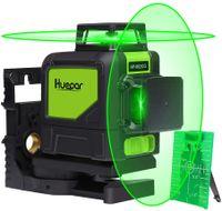 Huepar 902CG Kreuzlinienlaser Set Nivelliergerät Laser Linienlaser