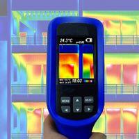 Wärmebildkamera Infrarotkamera LCD Farbdisplay Gebäude Sanierung Schimmel Taupunkt Energiepass IR3