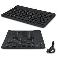 Wireless Bluetooth Keyboard Tastatur kabellos für Handy Tablet QWERTZ Layout