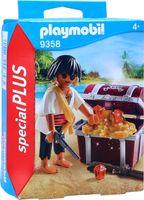 Playmobil 9358 Special PLUS Pirat mit Schatztruhe Gewehr Pistole NEU OVP