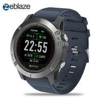 Zeblaze VIBE 3 HR Smartwatch IP67 Wasserdichte Smart Wrist Fitness Tracker Schrittzaehler Remote Kamera Anruferinnerungen Armbanduhren Tragbare Geraet IPS Farbdisplay Smart Watch fuer iOS und Android