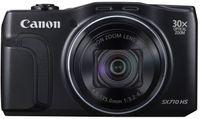 Canon Powershot SX710 HS 20,3 Megapixel Kompaktkamera, Full HD Video, 30-fach optischer/4-fach digitaler Zoom, 25 - 750 mm Brennweite, optischer Bildstabilisator, 1/2,3'' CMOS-Sensor, F3,2 (W) - F6,9 (T), 7,62 cm (3 Zoll) Display, WLAN, YES