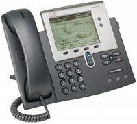 Cisco IP 7942G Telefon, Rufnummernanzeige, Freisprechfunktion, Ethernet