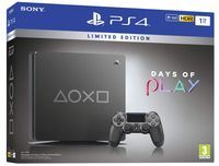 Playstation 4 Slim 1TB Days of Play 2019 (steel black) [video game]