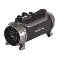 Audiocore AC890 - 100 W - 100 - 20000 Hz - Verkabelt & Kabellos - 2.1+EDR - Tragbarer Stereo-Lautsprecher - Schwarz - Grau