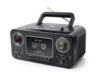 muse M-182RDC Tragbarer CD-Cassettenradio Boombox Musikanlage FM/MW Radio