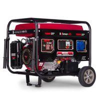 Böhmer-AG 8000W-e - 7,5W Benzin Stromerzeuger E-Start Schlüsselstart   Stromaggregat Notstromaggregat Generator 4-Takt 13PS Motor