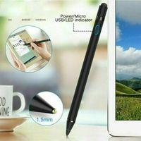 DIGITAL ACTIVE STYLUS PEN PENCIL für APPLE iPad TOUCHSCREEN ULTRA FINE TIP STIFT SCHWARZ