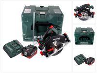 Metabo KS 18 LTX 57 Akku Handkreissäge 18 V 165 x 20 mm ( 601857840 ) + 1x 10,0 Ah Akku + Ladegerät + MetaLoc