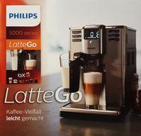 Philips EP5335/10 Latte Go Kaffeevollautomat, Edelstahl/Schwarz