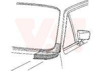 VAN WEZEL LINKS Frontscheibenrahmen für VW GOLF I Cabriolet (155) GOLF I (17)