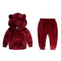 Mädchen Kinder Baby Trainingsanzug Sweatshirt Pullover Top Hose Kleidung Outfits