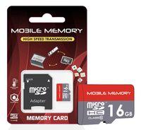 microSD Speicherkarte für Smartphone, Kamera, z.B. Samsung Galaxy Speicherkarte SD Karte, Speicherkapazität: 16GB