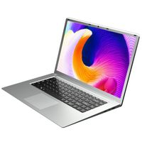 """T-Bao X8S 15.6"""" ultraduenner Laptop 1080P IPS Celeron J3455 8G Speicher 128G SSD tragbarer Computer fuer Buero und Spiel -Silber"""