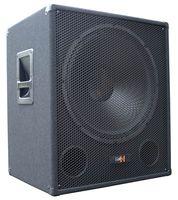 "E-Lektron SUB-Q45A PA-Subwoofer Aktiv 18""/45cm Bass Lautsprecher Box 1000W-Peak - EL199073"