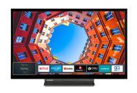 Toshiba 24WK3C63DA 24 Zoll Fernseher (Smart TV, HD-Ready, Triple Tuner, WLAN, Bluetooth) [Modelljahr 2021])
