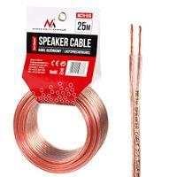 Lautsprecher Audio Hifi Kabel - 25m - Zwilingslitze CCA 2x1,5 mm²
