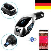 Auto Bluetooth FM Transmitter KFZ MP3 Musik Player Freisprechanlage USB TF AUX
