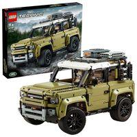 LEGO 42110 Technic Land Rover Defender, 4x4 Geländewagen, exklusives Sammlerstück für Kinder und Erwachsene, Bauset für Fortgeschrittene
