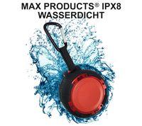 MAX PRODUCTS® IPX8 wasserdichter 5W Bluetooth Outdoor Lautsprecher für Smartphone