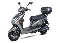 Elektroroller, E - Roller, Motorroller Siegurd1 grau 2000, 45km/h