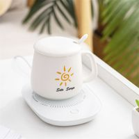 Winter USB Tassenwärmer Kaffeetassen Pad Heizuntersetzer Kaffeetassenwärmer Matte Heizung Untersetzer