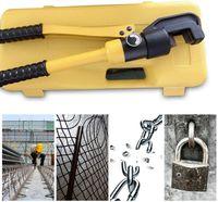 10T 4-16mm Hydraulikschneider Handschneider Stahlscheren Hydraulikschere Hydraulik Bolzen Schneider für Verstärkungsstangen