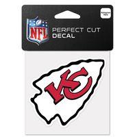 Wincraft Aufkleber 10x10cm - NFL Kansas City Chiefs